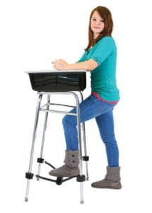 Does A Stand Up Desk Help Students With Homework