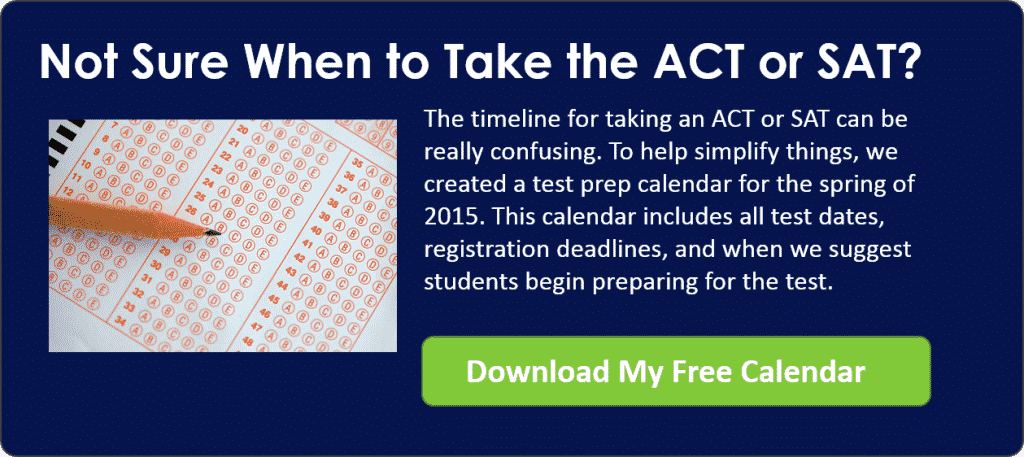 When to Take ACT or SAT